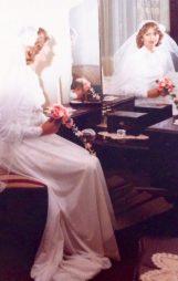 On my wedding day