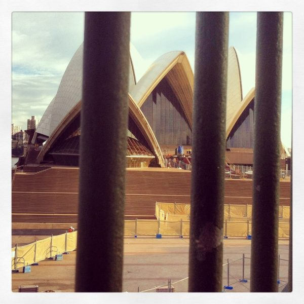 Maintenance at the Opera House
