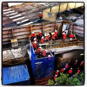 Workers heading down under