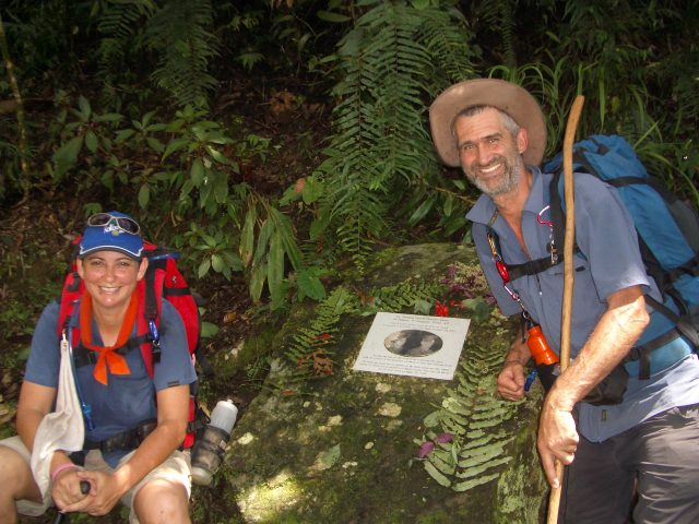 On the Kokoda Track in 2008