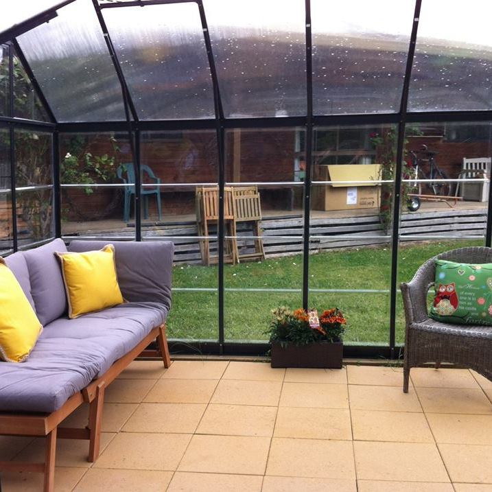 Relaxing sunroom