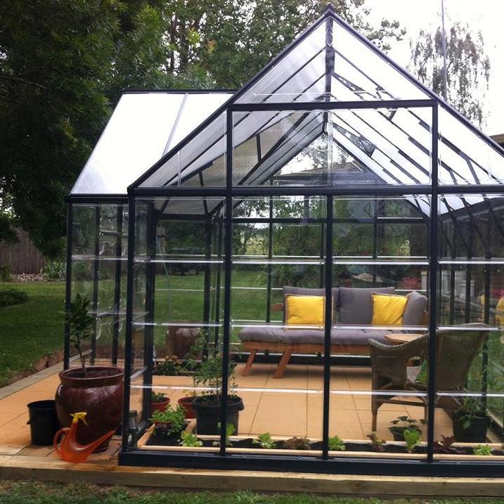 sunroom in the garden