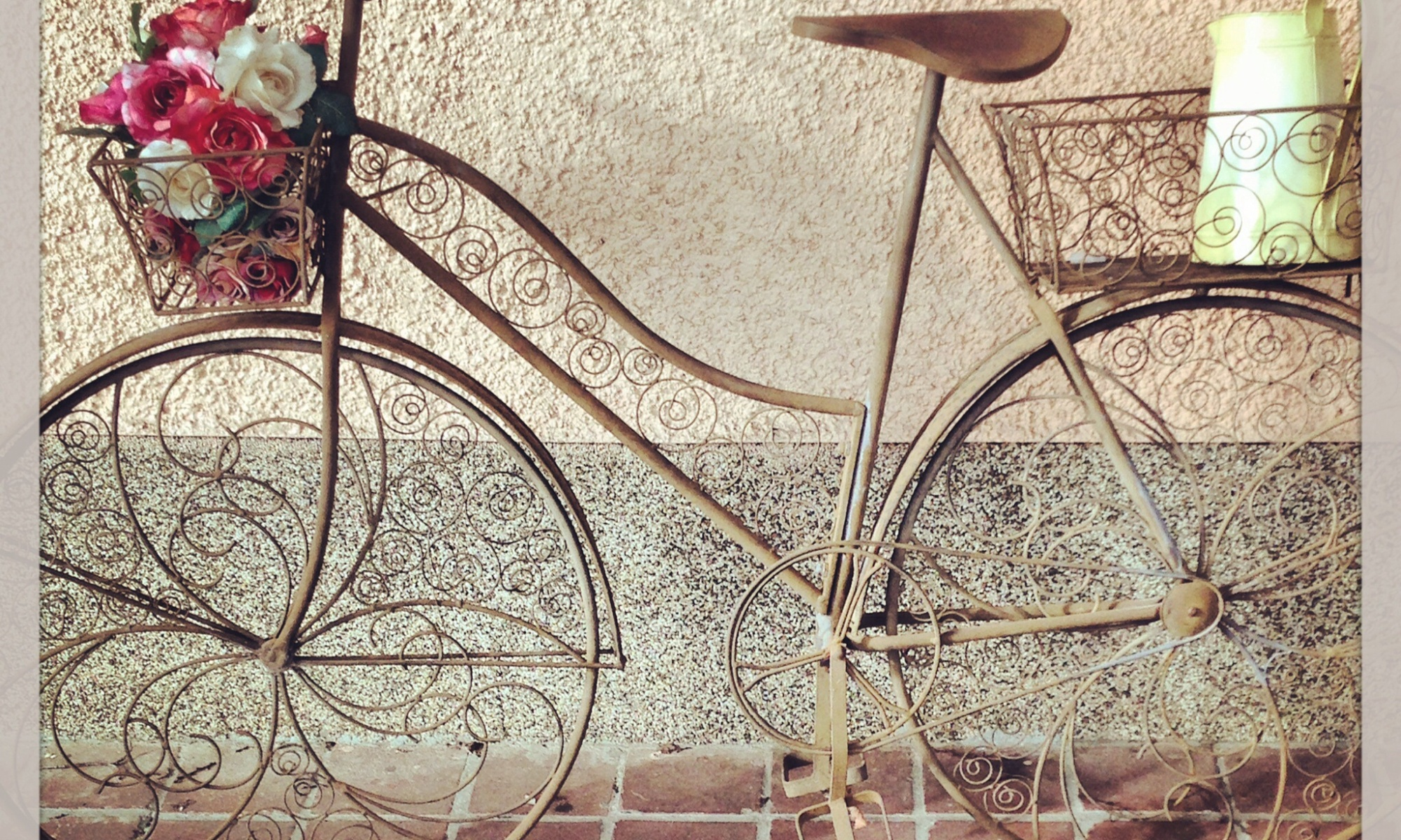 Vintage bike in Bright