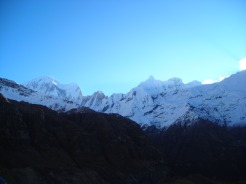 Himalayas views such as this every time we looked up