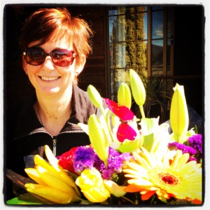 Happy bright flowers to help recovery process