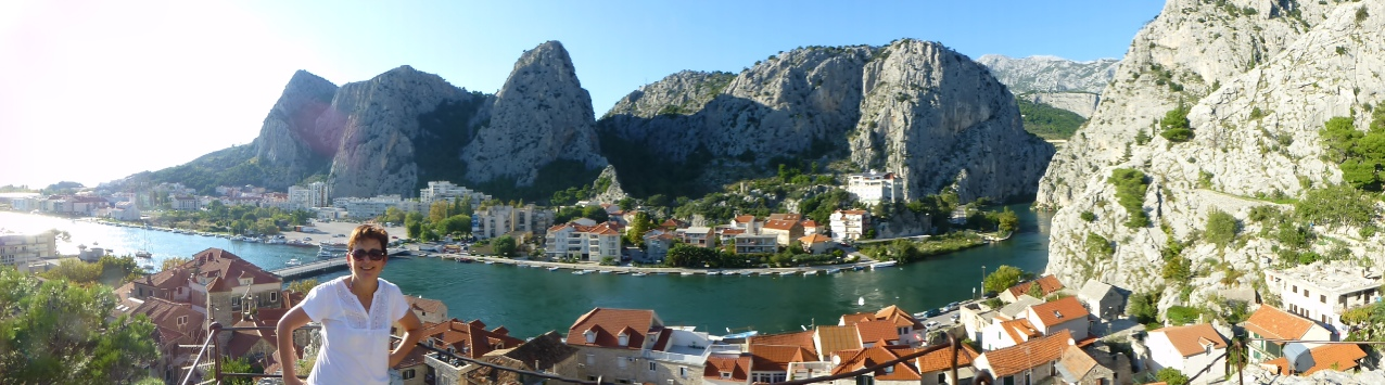 Omis in Croatia