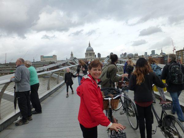 Riding around London