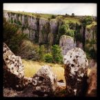 Impressive edges in Cheddar Gorge