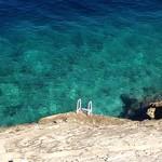 Blissfully clear water in Croatia