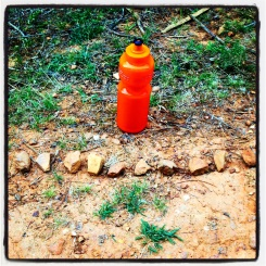 10 stones - how I kept count of my hill sprints