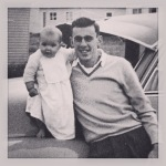 1960 with dad