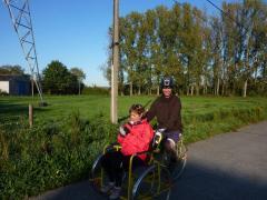 Crazy bike museum in near Gent