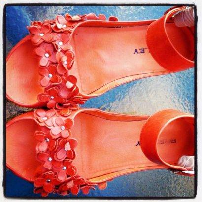My favourite orange shoes