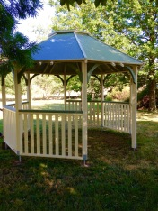 The new gazebo