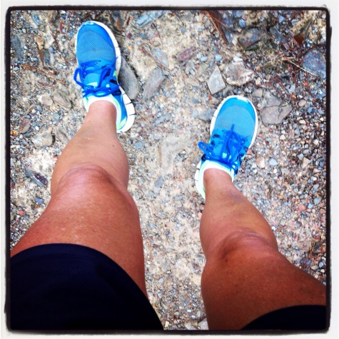 My legs are made for running