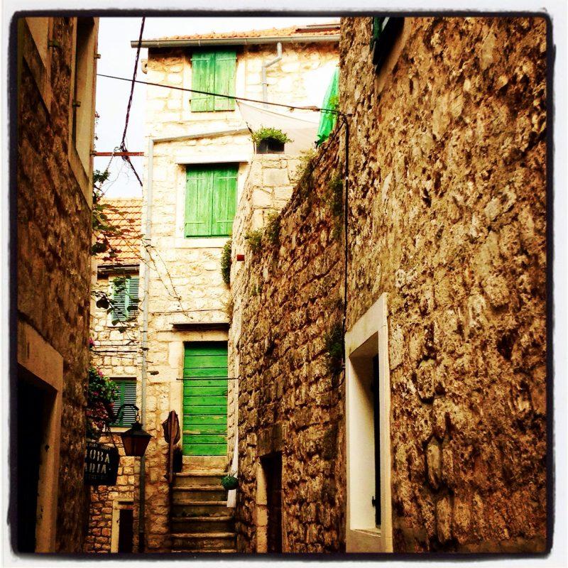 Pick a door - any door as long as it's green!