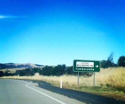 On the way home to Tumbarumba