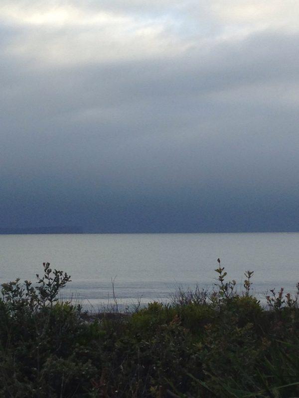 Grey skies over Point Perpindicular
