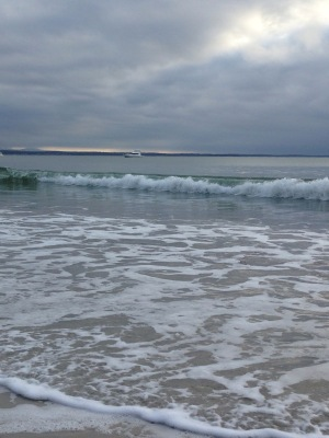 Soothing sounds of the surf