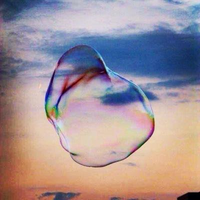 Don't burst my bubble!