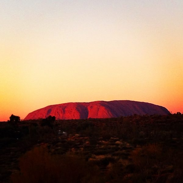 Uluru at sunrise