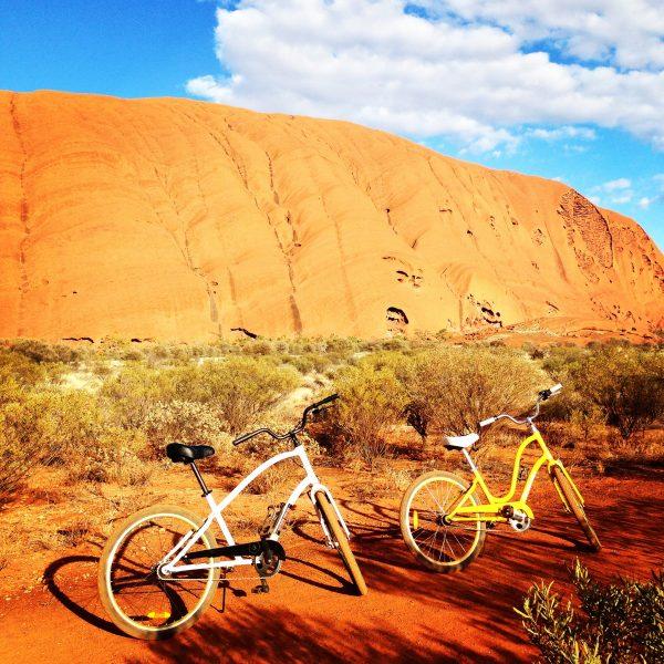Ride anyone? Uluru