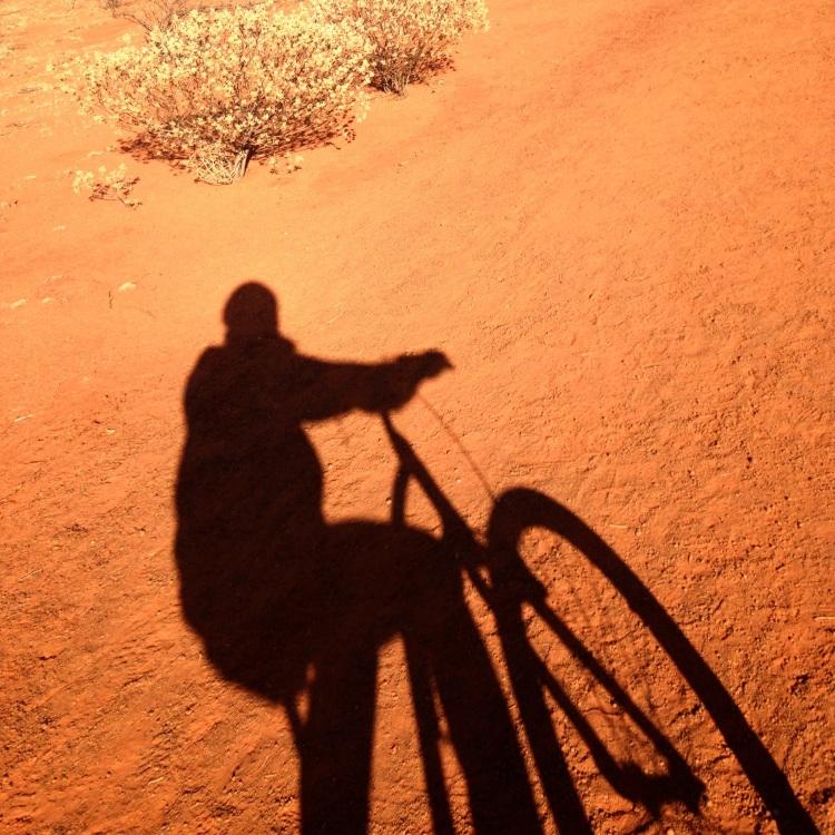 Selfie on bike