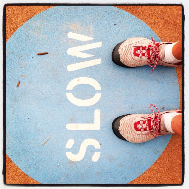 A slow run is still a run