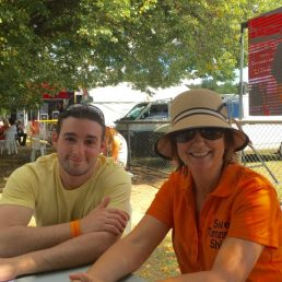 With my son-in-law at Tumbafest