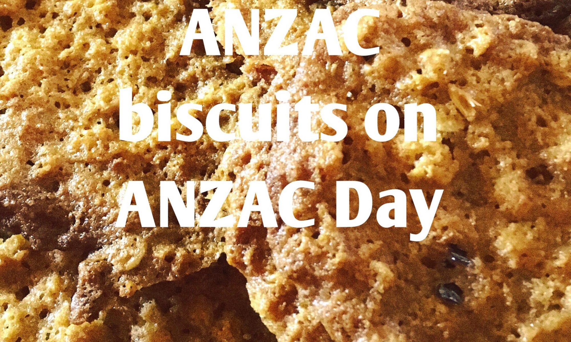 An Aussie tradition ANZAC biscuits