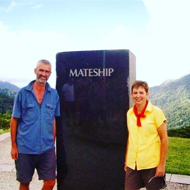 at Isurava Memorial along the Kokoda Track in Papua New Guinea