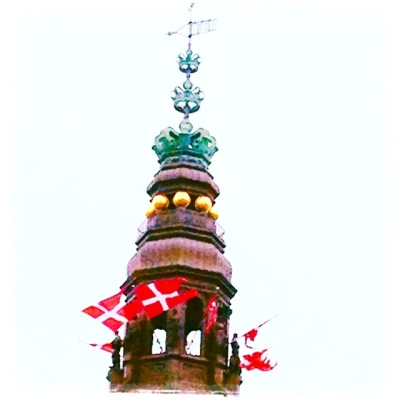The Tower at Christianborg Palace in Denmark