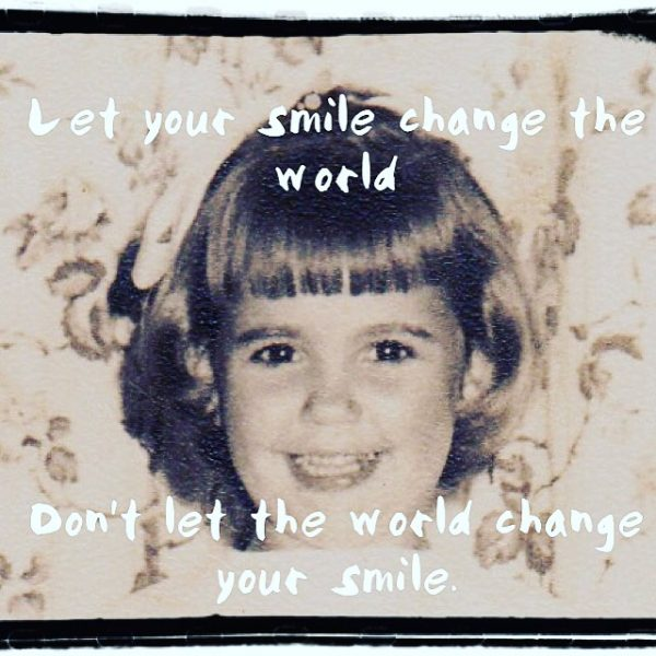 Smile and quote