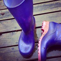 Big Debbie's Purple Boots