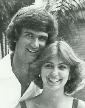 1980 on our honeymoon