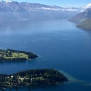 View from the top in Queenstown