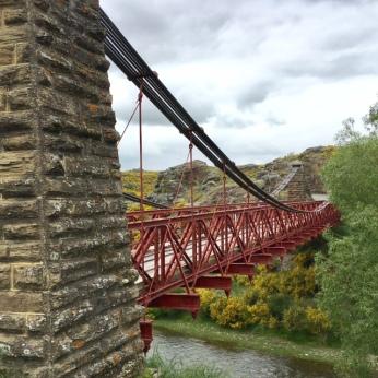 Bridge on Otago Rail Trail New Zealand