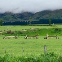 Bikes, New Zealand, Rail Trail, Otago
