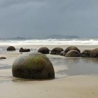 Travel Blog: New Zealand #10 - Road trip, rocks and pennyfarthing fun