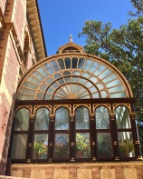 Conservatory from the back