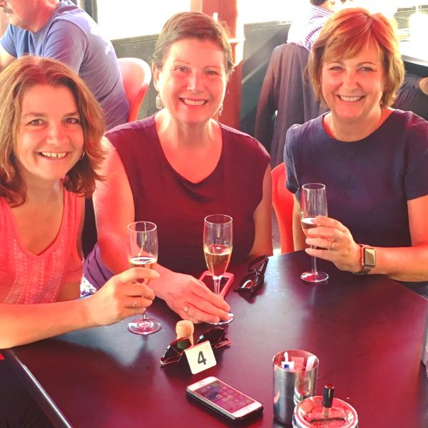 Meeting up with two of my favourite bloggers, Miriam and Louise
