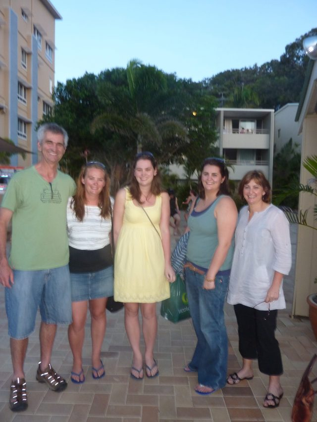 Family photo in 2010