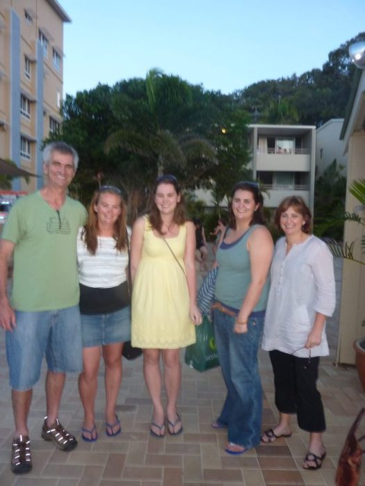 Family photo in 2010