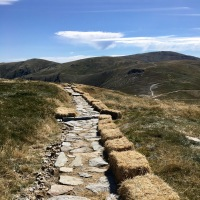 Rocks, track, mountain, hike, Kosciuszko