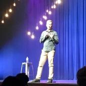 Comedian Luke McGregor