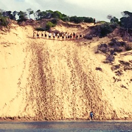 Sand hill near Phillip Island