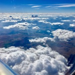Clouds, flying, travel