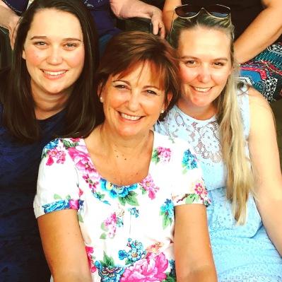Sarah, me and Eliza