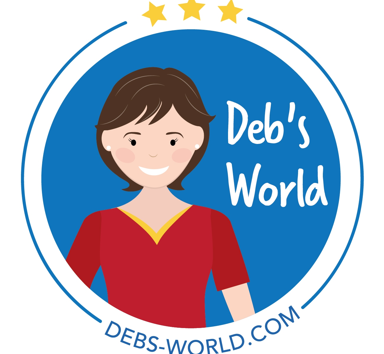 Deb's World Logo