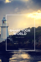 Share your world, lighthouse, travel